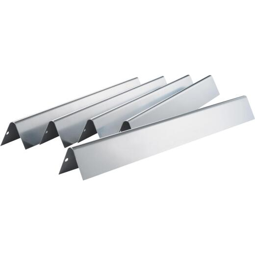 Weber Genesis 17.6 In. Stainless Steel Front Mount Flavorizer Bar (5-Pack)