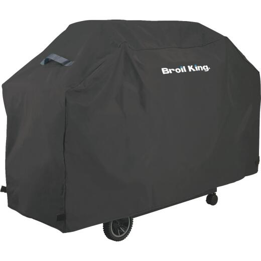 Broil King Select Series 58 In. Black Polyester Grill Cover
