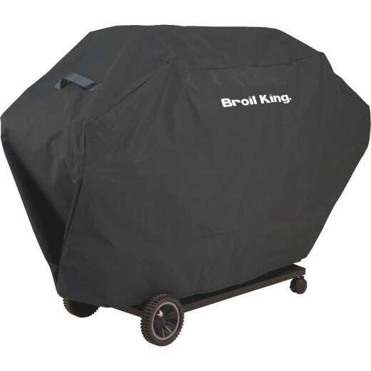 Broil King Select Series 64 In. Black Polyester Grill Cover