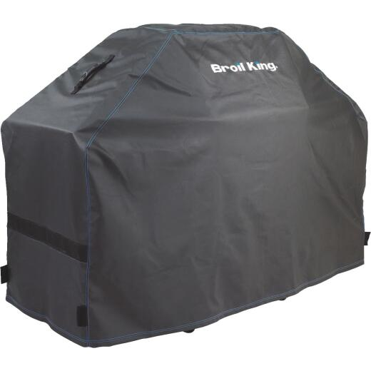 Broil King Premium Series 63 In. Black Polyester Grill Cover