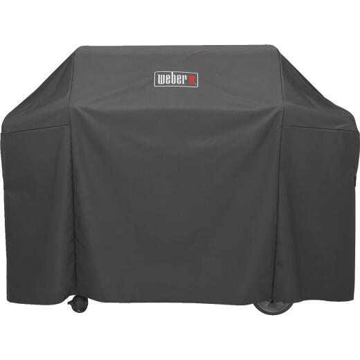 Weber Genesis II 65 In. 4- Burner Black Polyester Grill Cover