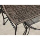 Outdoor Expressions Santorini 3-Piece Bistro Set with Wicker Seats Image 6
