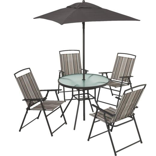 Outdoor Expressions Arrowhead 6-Piece Dining Set