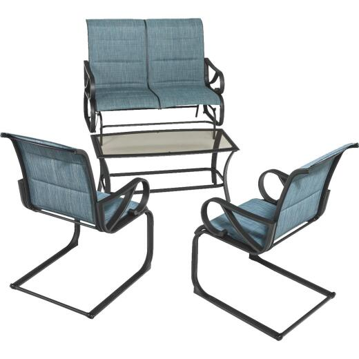 Outdoor Expressions Brookdale 4-Piece Chat Set