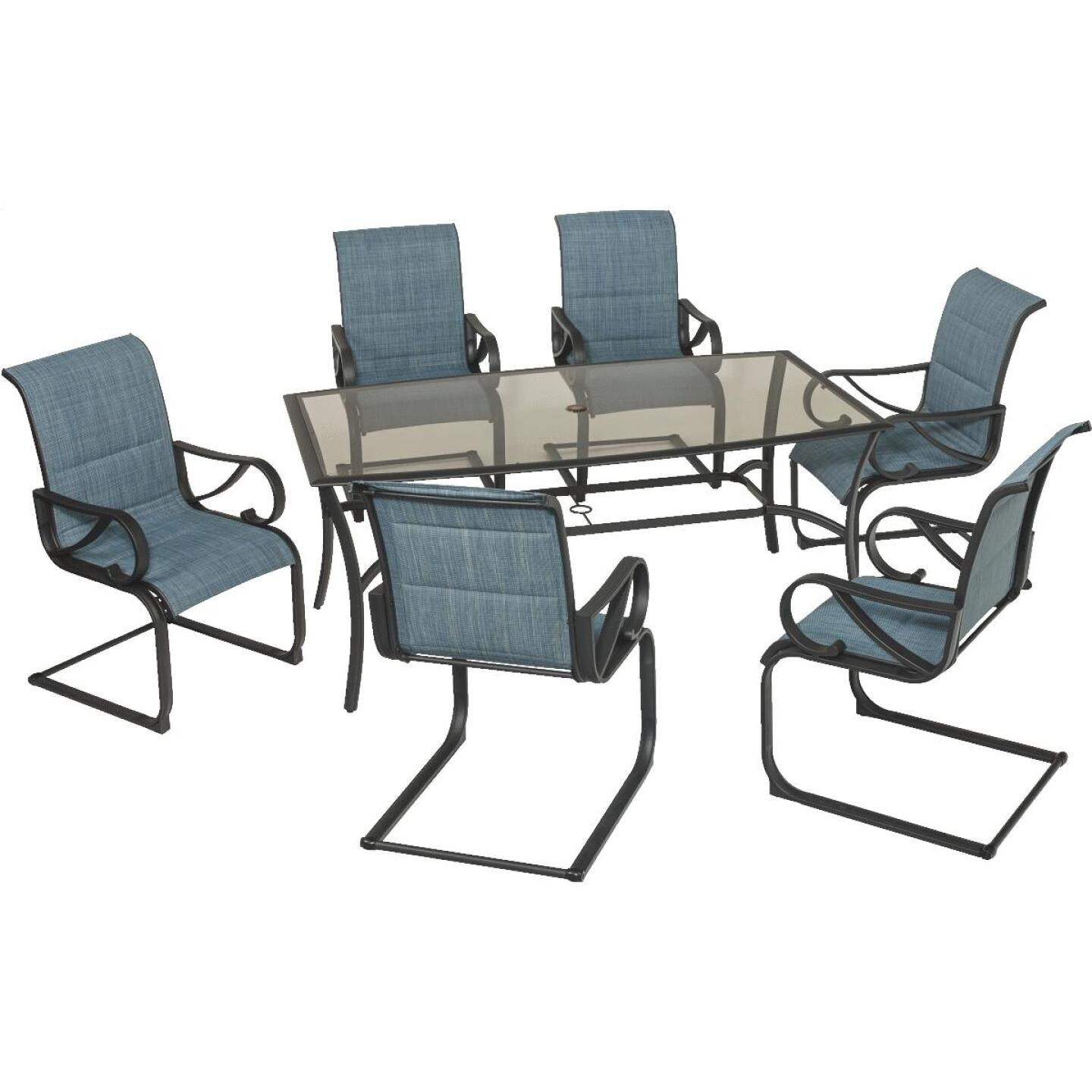 Outdoor Expressions Brookdale 7-Piece Dining Set Image 1