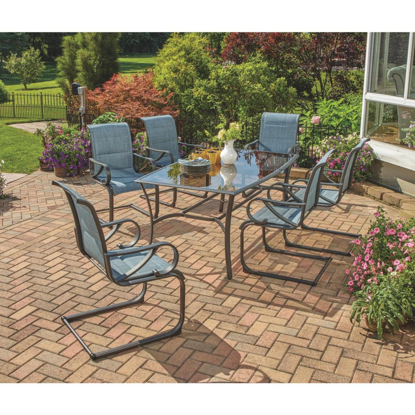 Outdoor Expressions Brookdale 7-Piece Dining Set Image 8