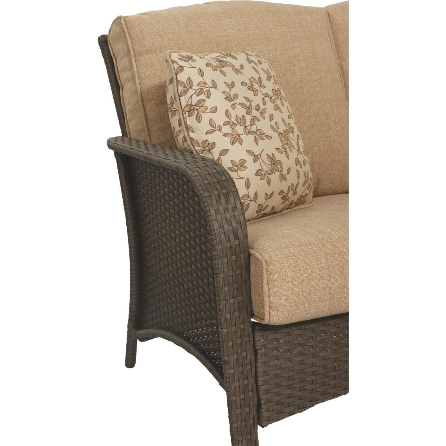 Pacific Casual Tiara Garden 2-Person Love Seat with Coffee Table Image 7