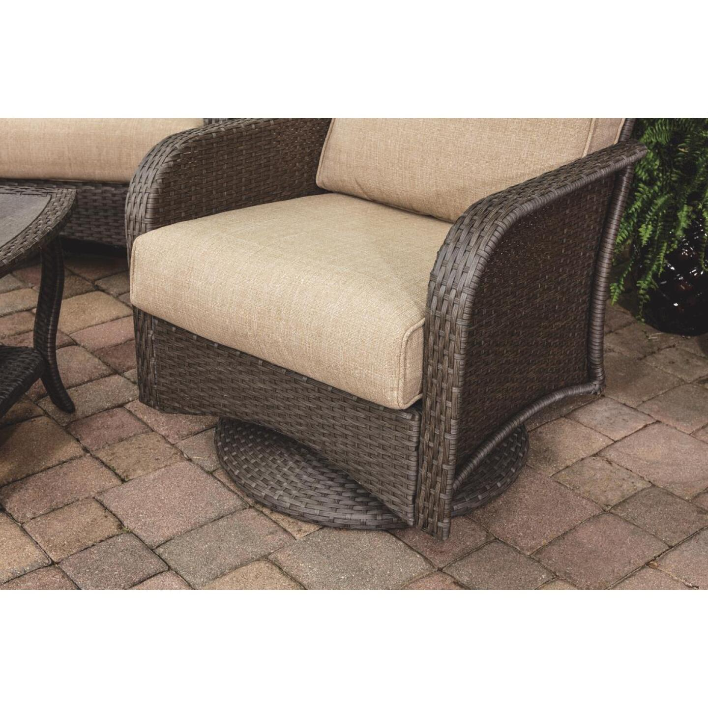 Pacific Casual Tiara Garden 2-Person Love Seat with Coffee Table Image 12