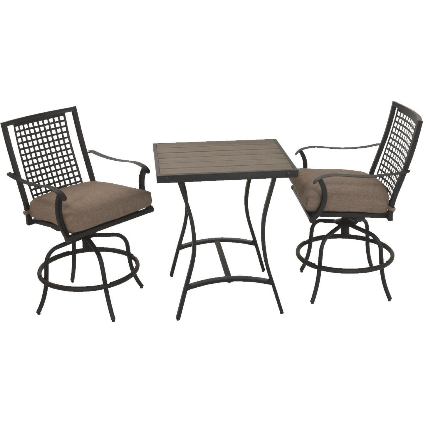 Palazzo 3-Piece Bistro Set with Seat Cushions Image 15