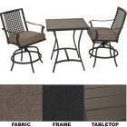 Palazzo 3-Piece Bistro Set with Seat Cushions Image 1