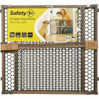Safety 1st 24 In. H. Vintage Gray Wood Doorway Safety Gate Image 1
