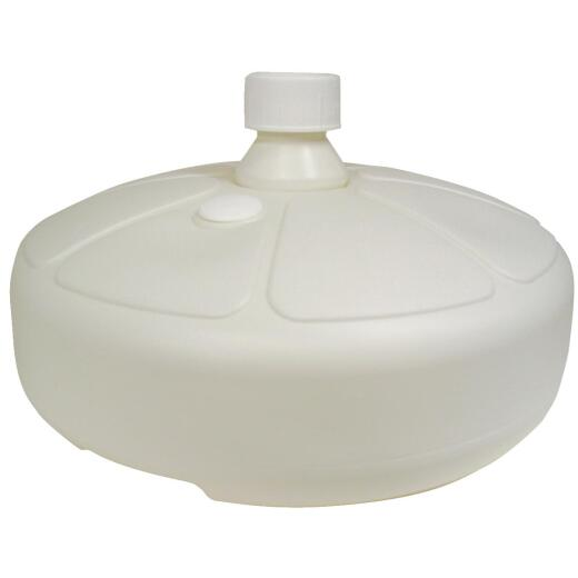 Adams 15 In. Round White Resin Umbrella Base