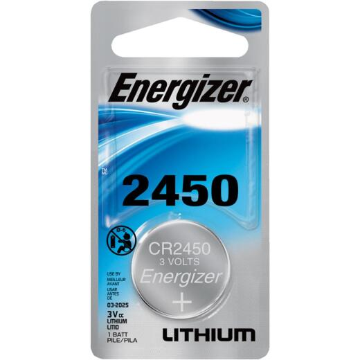 Energizer 2450 Lithium Coin Cell Battery