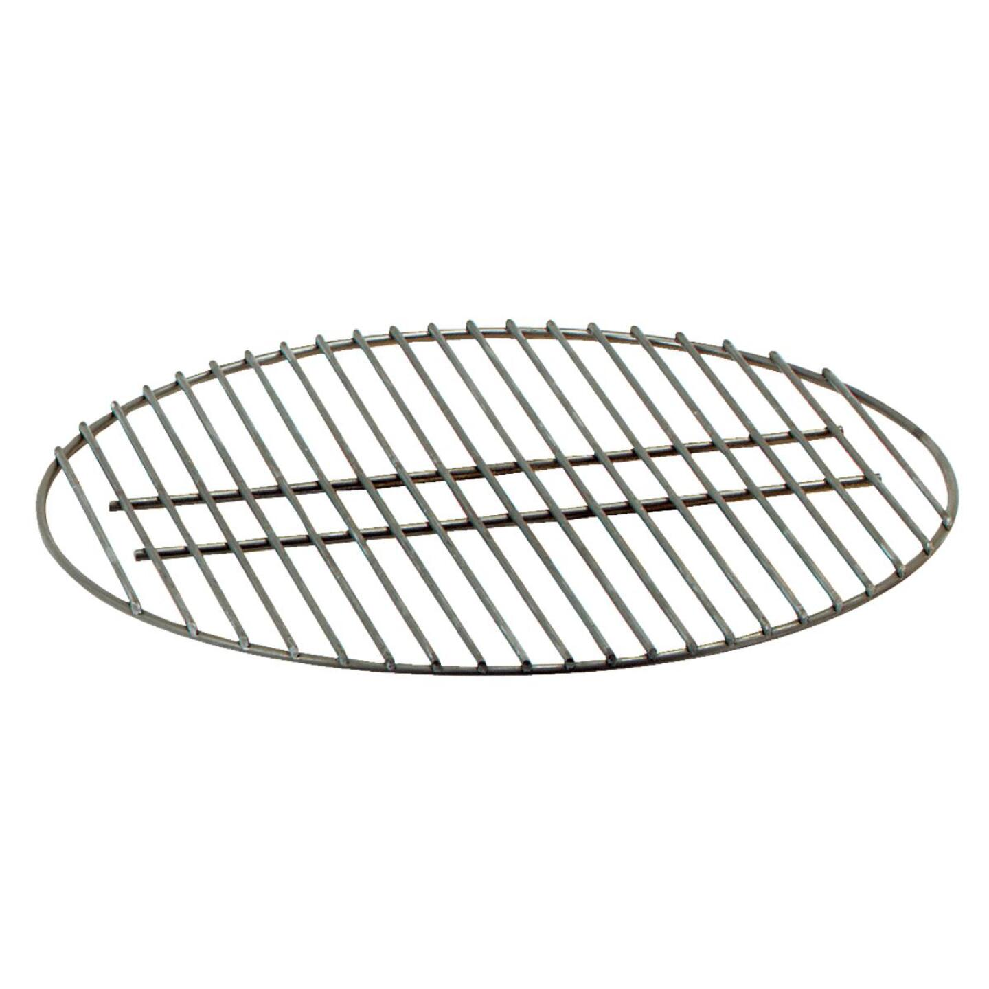 Weber 17 In. Dia. Plated Heavy Steel Cooker Grill Grate Image 1