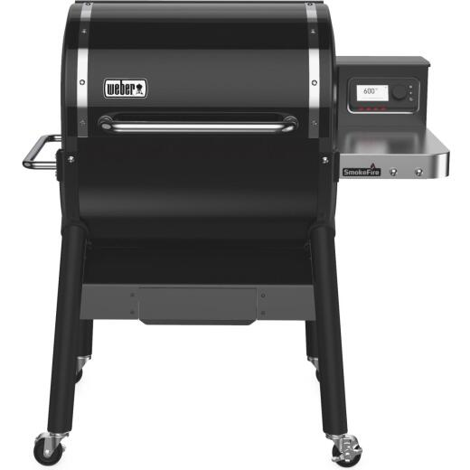 Weber SmokeFire EX4 Black 672 Sq. In. Wood Pellet Grill