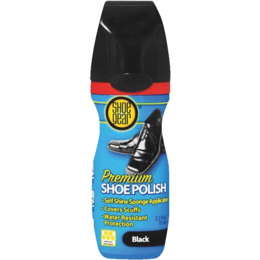 Shoe Gear 2.5 Oz. Black Liquid Shoe Polish