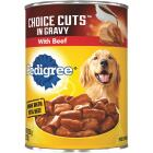 Pedigree Choice Cuts in Gravy with Beef Wet Dog Food, 22 Oz. Image 1