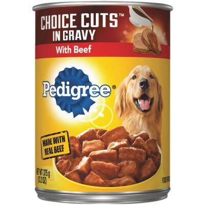 Pedigree Choice Cuts in Gravy with Beef Wet Dog Food, 13.2 Oz.