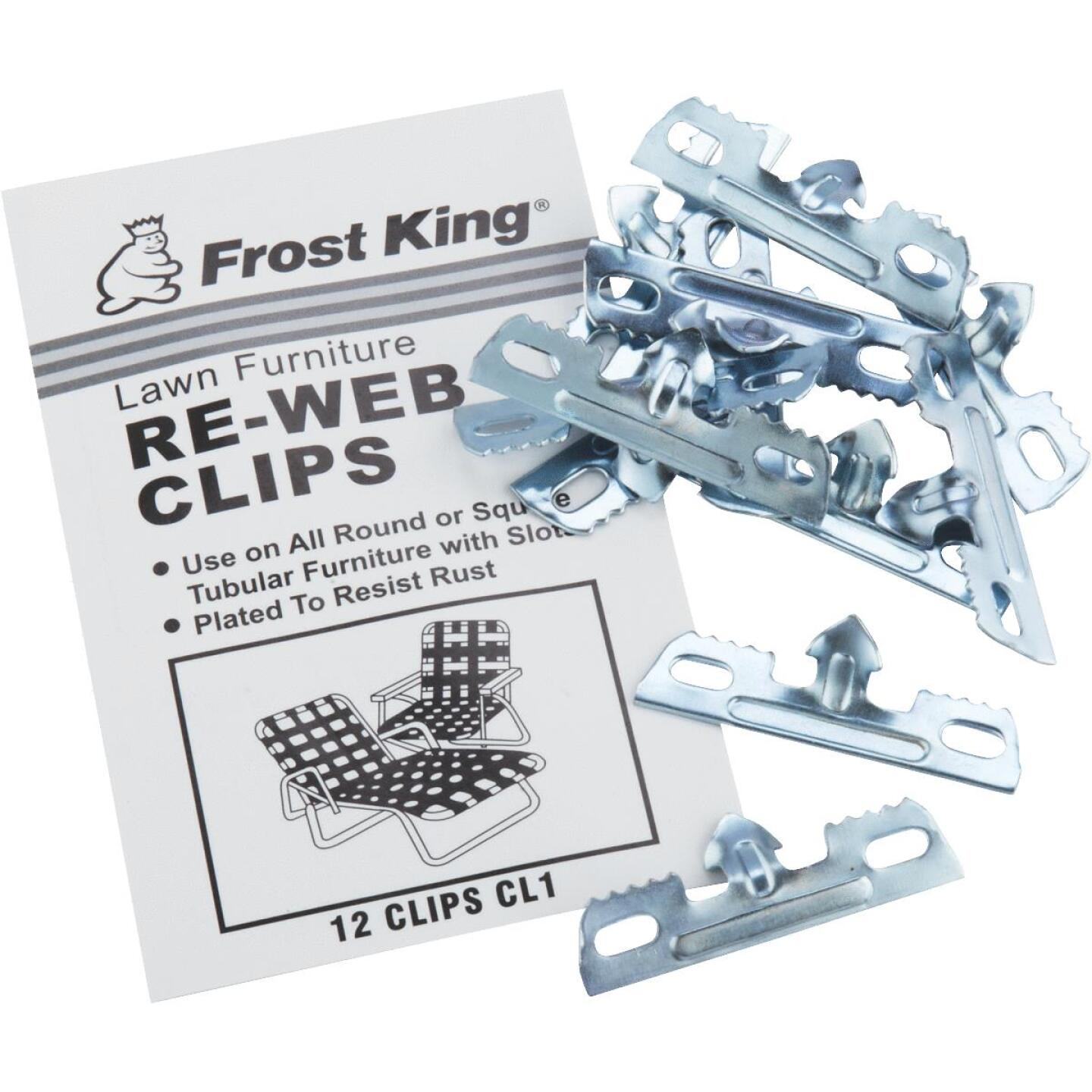 Frost King Plated Outdoor Chair Webbing Clips (12-Pack) Image 2