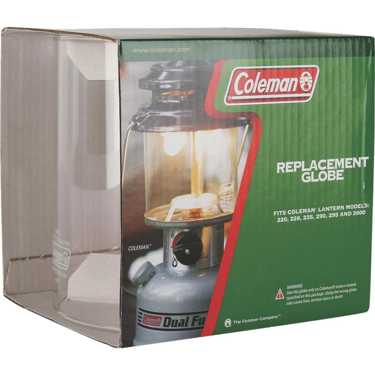 Coleman Leisure Line 3-1/8 In. H. x 3 In. Dia. Tapered Lantern Globe Image 1