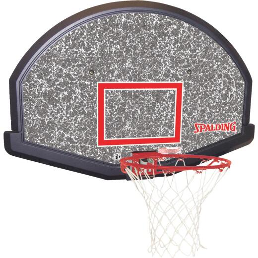 Spalding Performance Series Basketball Backboard And Rim Goal
