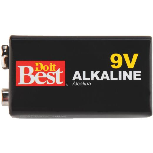 Do it Best 9V Alkaline Battery