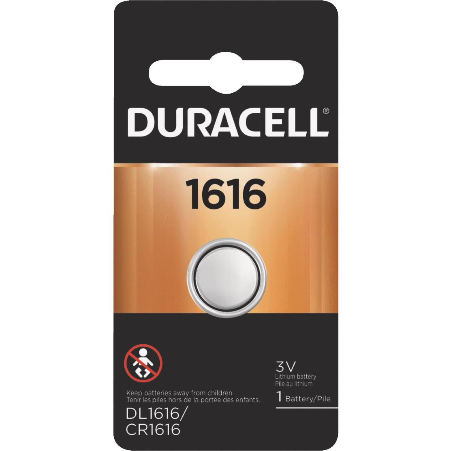Duracell 1616 Lithium Coin Cell Battery Image 1