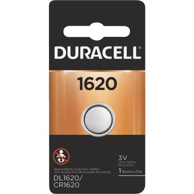 Duracell 1620 Lithium Coin Cell Battery