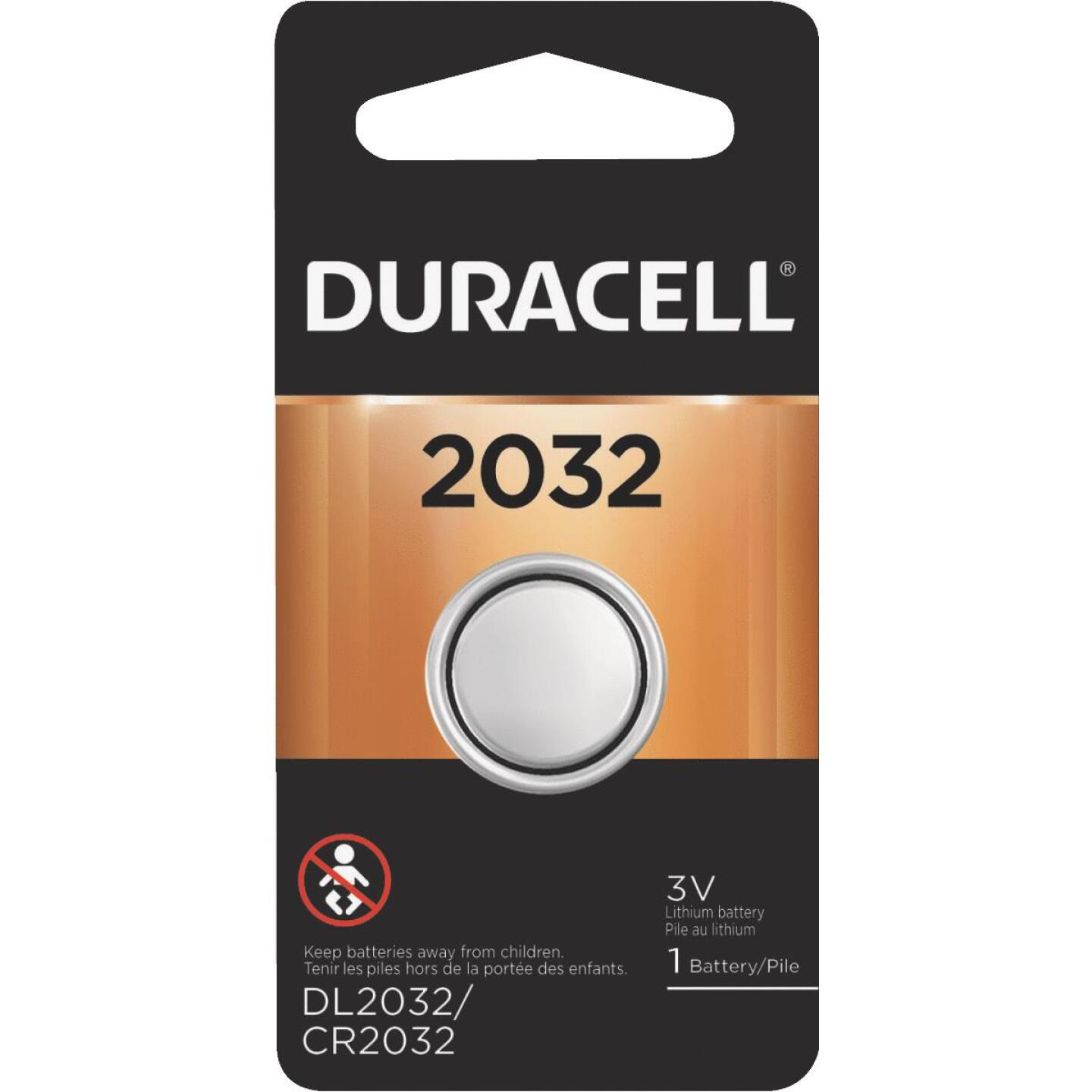 Duracell 2032 Lithium Coin Cell Battery Image 1