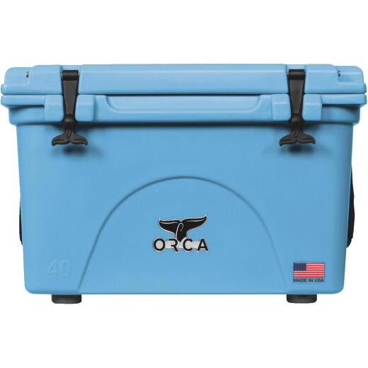 Orca 40 Qt. 48-Can Cooler, Light Blue