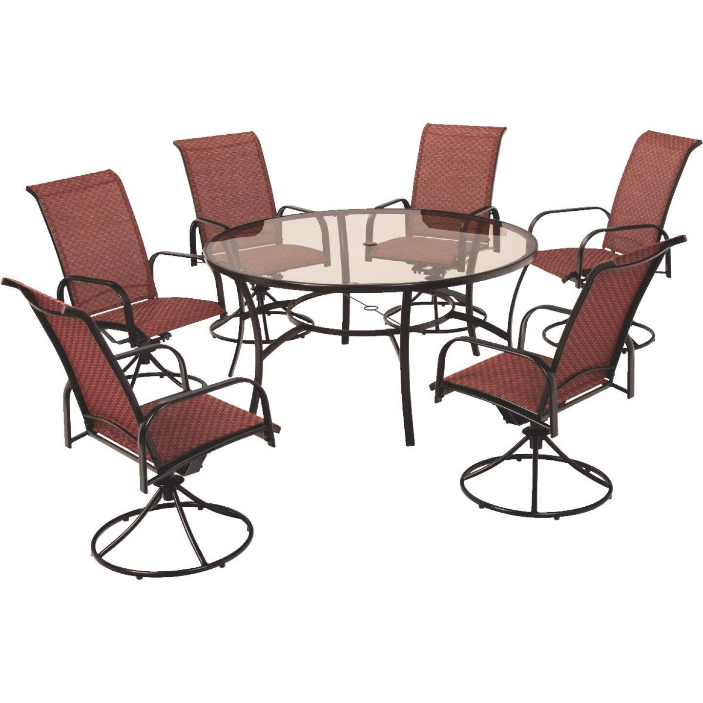 Outdoor Expressions Monaco 7-Piece Dining Set Image 1