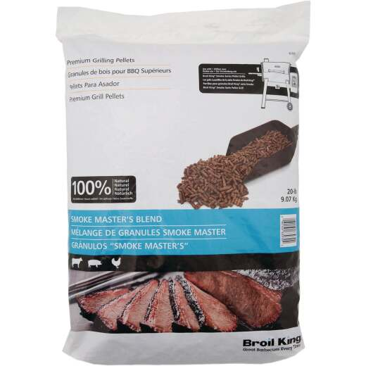Broil King 20 Lb. Maple, Hickory, & Cherry Smoke Master's Blend Wood Pellet