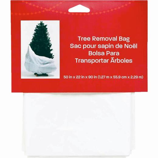 Berwick Offray 50 In. L. x  90 In. Dia. Christmas Tree Removal Bag