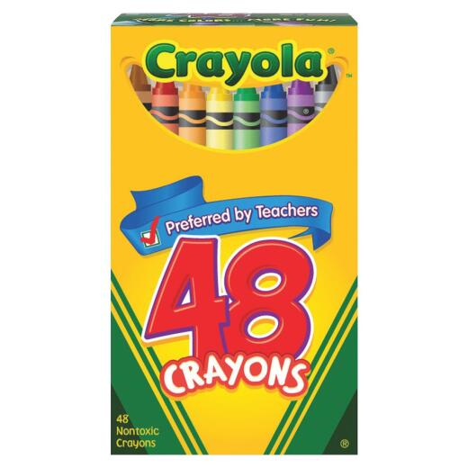 Crayola Traditional Crayons (48-Pack)