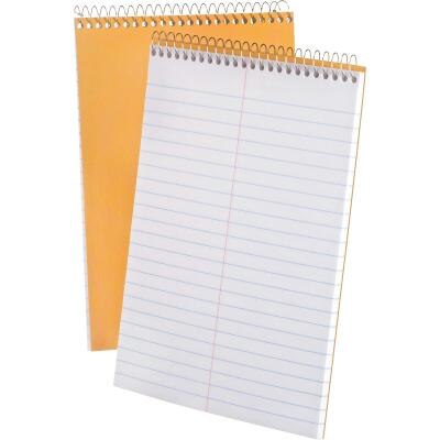 Ampad 6 In. W. x 9 In. H. 70-Sheet Tip-Spiral Bound Steno Notebook